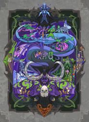 memory of Illidan by breath-art