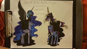 Two nightmares of different reasons by EJBanimefangirl