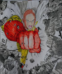 One Punch Man by DragonBorn97