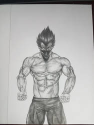 Vegeta by DragonBorn97