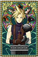 Cloud Strife by Draw-Bert