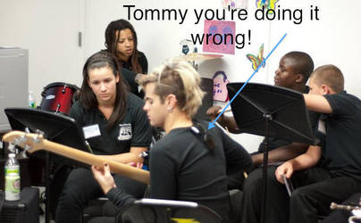 Tommy you're doing it wrong by guitargod1313