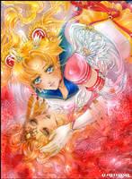 Sailor Moon fanart by EPONYMIA