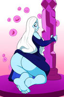 COLLAB- Blue Diamond by SuperSpoe