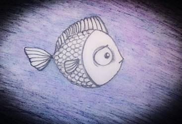 Little fish by Shidozuma