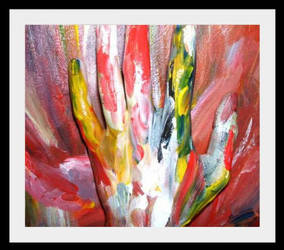 Hand of Love by Marionessa