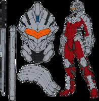 Ultraman Suit Ver. 7.2 by riderman09