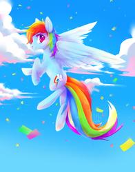 Rainbow Dash by KitsukitheFox