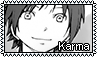F2U stamp: Karma from Assassination Classroom by Aqua-Spirit22