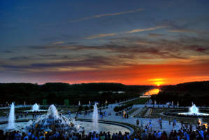 Gardens of Versailles III by bianco-c