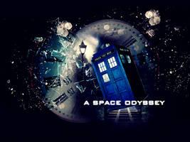 Tardis:  a space odyssey by lehyara