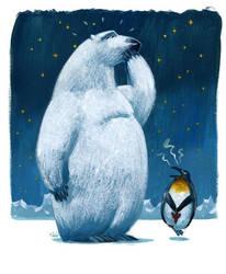 a polar bear by Mir-Black-Magic