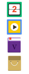 FREE flat icons by Visual-Creative