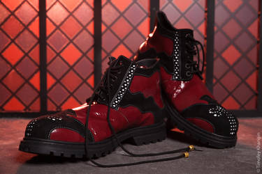 Devil boots by PrinceAri13