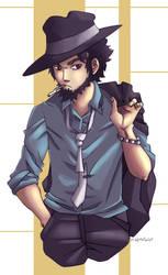 AT: Jigen Daisuke by MrtViolet