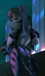 Widow Maker by MrtViolet