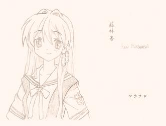 Kyou - Clannad by AriaDaCapo
