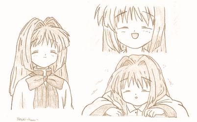 Nayukis, lots of them! ~Kanon~ by AriaDaCapo