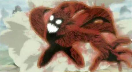 4 Tailed Naruto by vladtepez