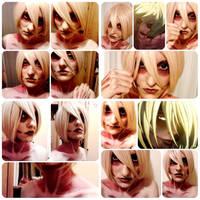 Female titan makeup trial 4 by timii95