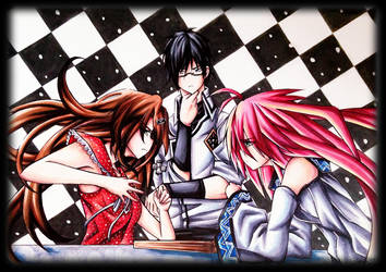 The Chess Game Of Much Intense by Tsiih-chan