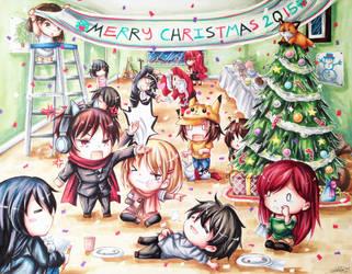 Happy Holidays! by Tsiih-chan