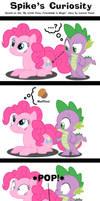MLP: Spike's Curiosity by ZuTheSkunk
