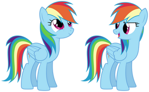 MLP Resource: Rainbow Dash 01 by ZuTheSkunk