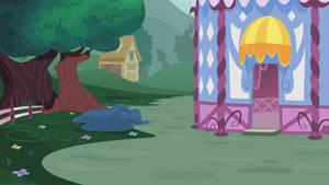 Custom Background #2 (Rarity's Backyard) by ZuTheSkunk