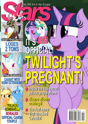 Commission: Stars magazine cover by ZuTheSkunk
