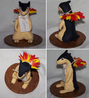 Typhlosion Sculpture by mewgal