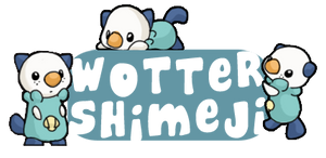 Wotter Shimeji by mewgal