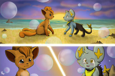 COMMISSION - Mystery Dungeon 2 by mewgal