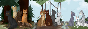 Warrior Cat families! by saeshells