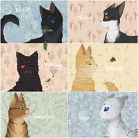 Favourite Warrior Cats by saeshells