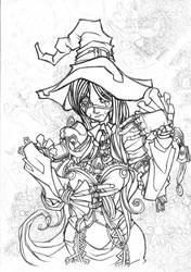 Gwendolynn Ascend to Valhalla by Yonami