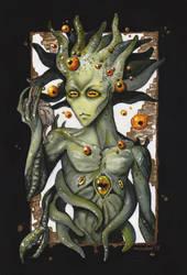 Hermaeus Mora, Demon of Knowledge  by Moudor