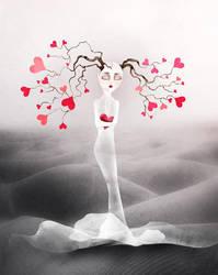 Valentine by kingDemoiselle
