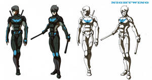 nightwing2 by blacksataguni