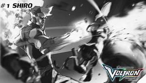 #1 Shiro of  Team Voltron by blacksataguni