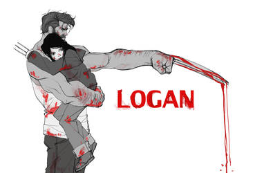 logan doodle by blacksataguni