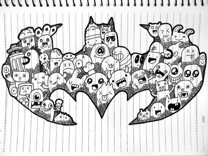 Batman Doodle By Andreycruz16 On Deviantart