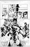secret invasion 1 pg 23 by MarkMorales