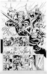 secret invasion 7 pg 20 by MarkMorales