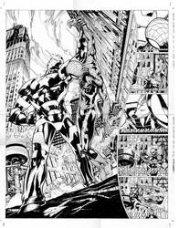 spider-man the list pgs 15-16 by MarkMorales