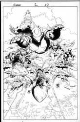 siege 1 pg 17 by MarkMorales