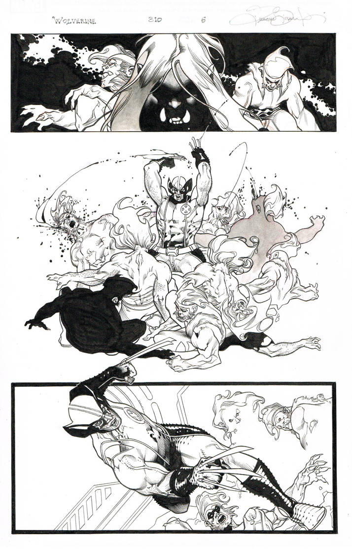 wolverine 311 pg 6 by MarkMorales