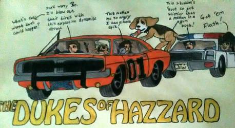The Dukes of Hazzard by Shankya
