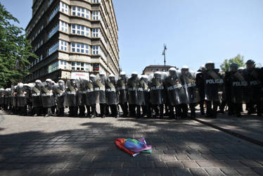 The Equality March vs nationalist demonstration by WilhelmBielawa