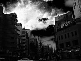 Tokyo Sky by Strikethecamera